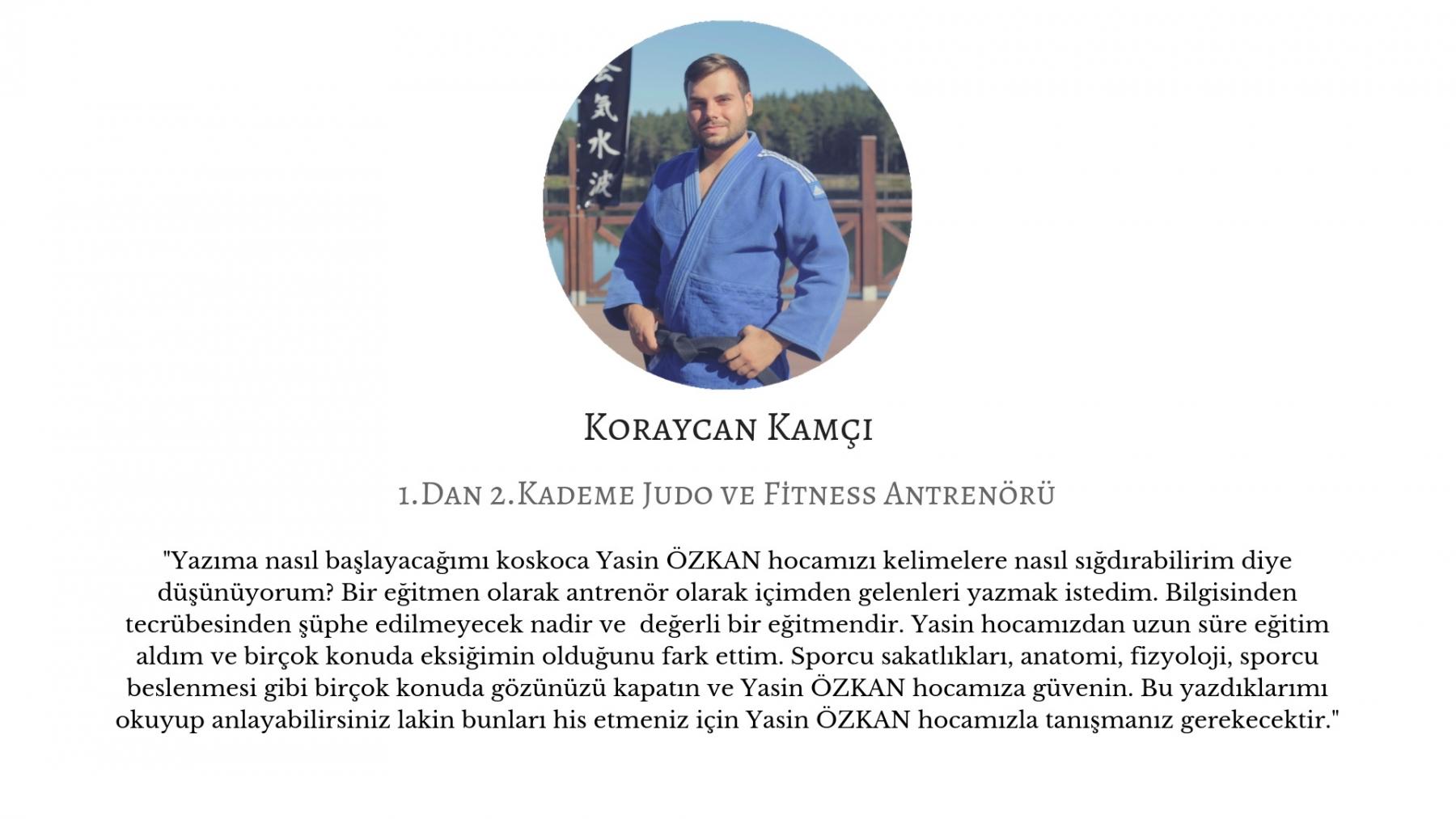 Koraycam Kamçı - Judo Antrenörü yasin ozkan mma bjj izmir jiujitsu muay thai fitness pt