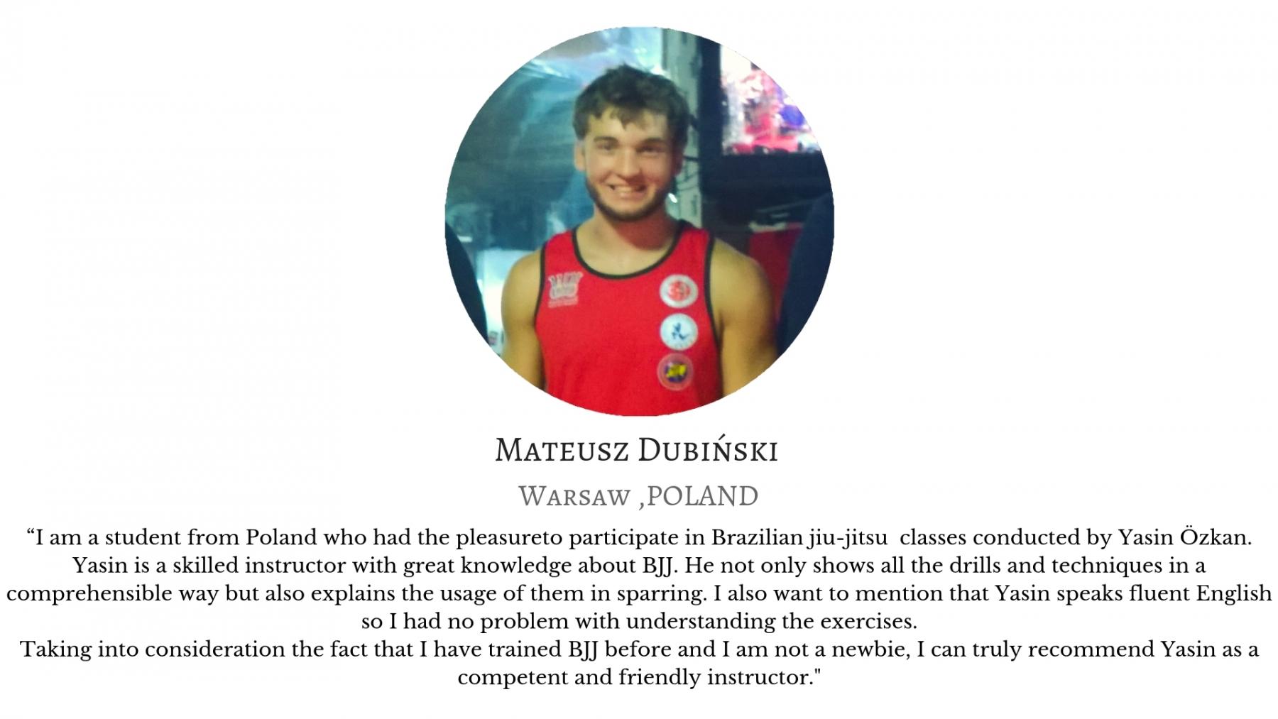 Mateus Dubinski yasin ozkan mma bjj izmir jiujitsu muay thai fitness pt