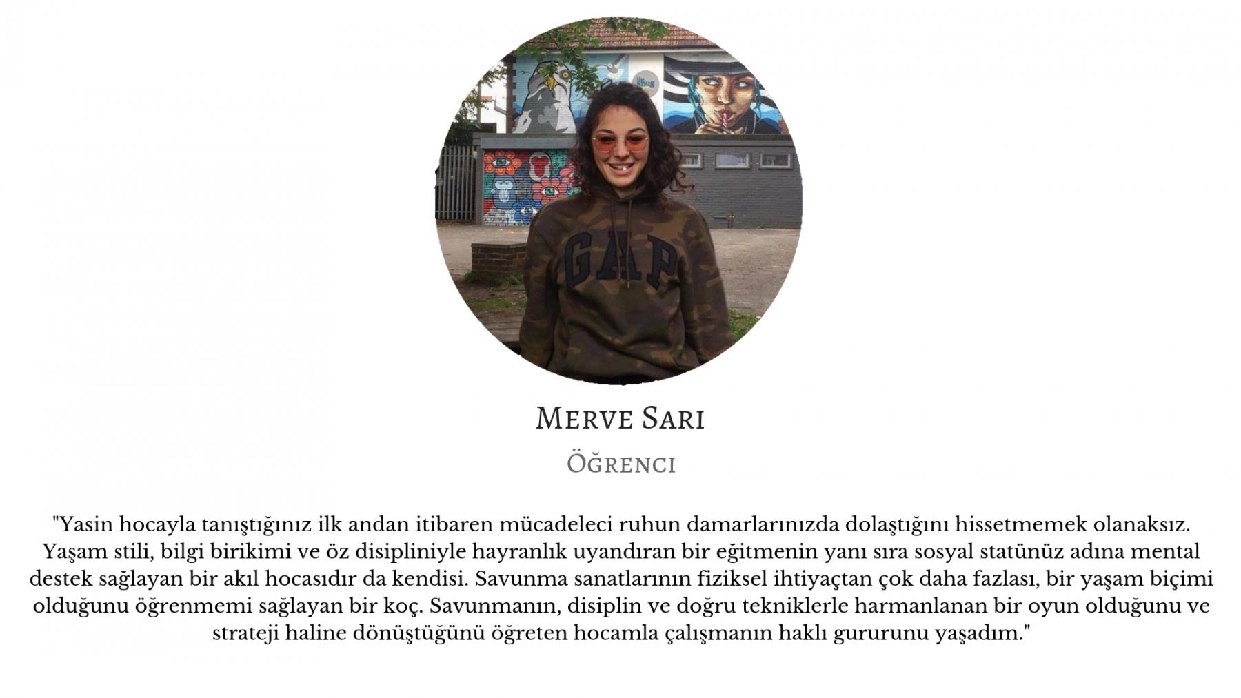 Merve Sarı -  Öğrenci yasin ozkan mma bjj izmir jiujitsu muay thai fitness pt