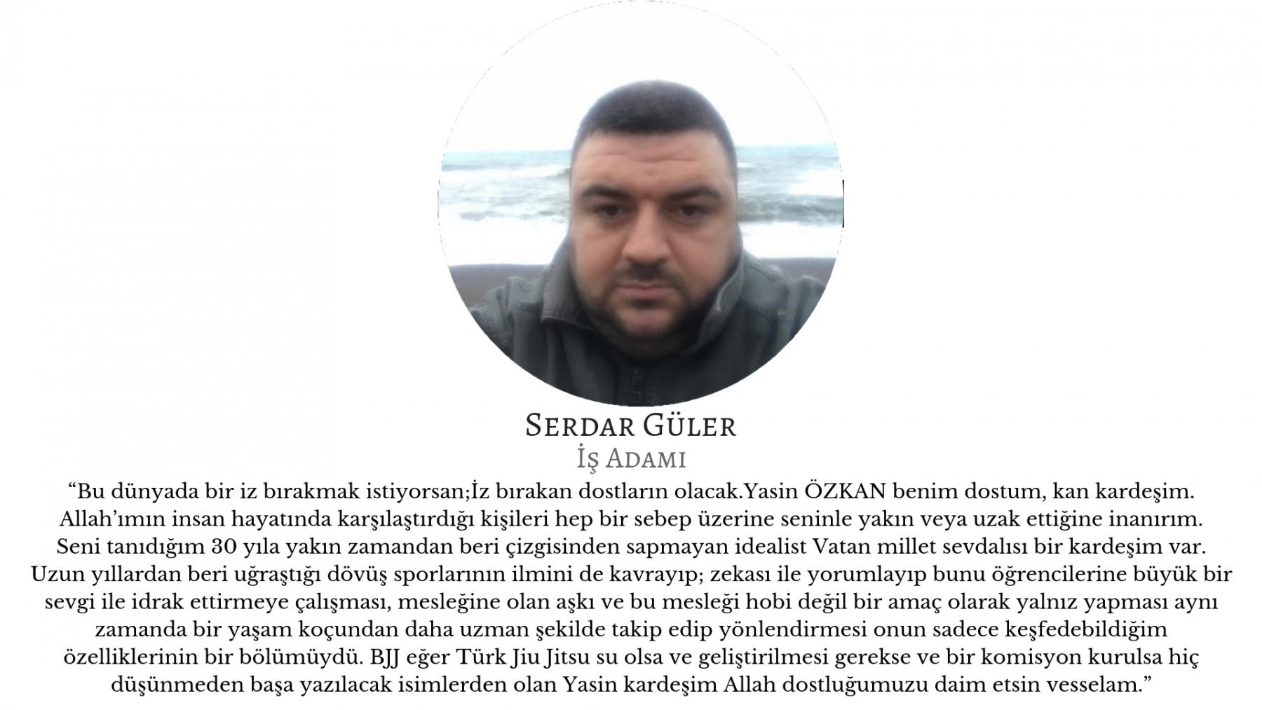 Serdar Güler - İş Adamı yasin ozkan mma bjj izmir jiujitsu muay thai fitness pt